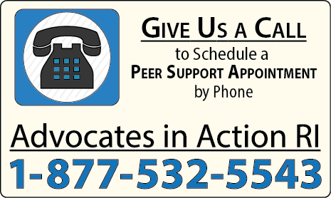 give us a call if you'd like some help completing the questionnaire: Advocates in Action RI, 1-877-532-5543